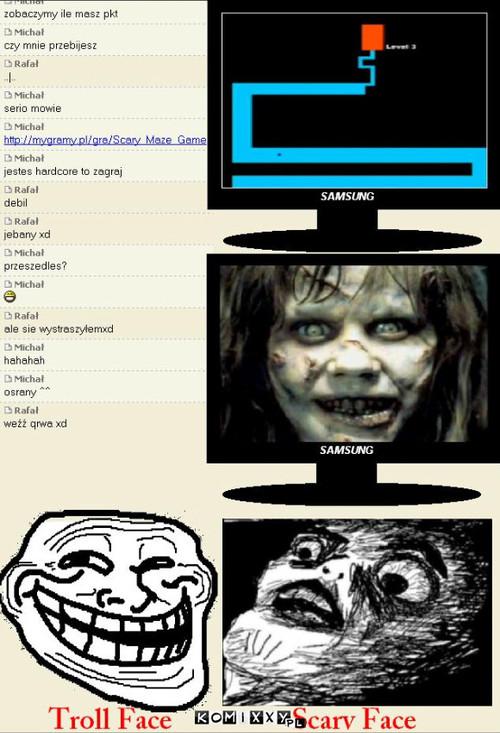 Scary Maze Game – Komixxypl Komixxy Internetowe I Memy