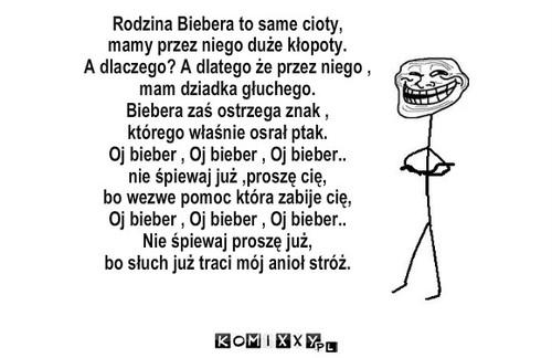 Wiersz O Bieberze Komiks Internetowy
