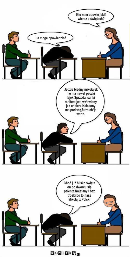 Miokołaj Z Polski Komiks Internetowy