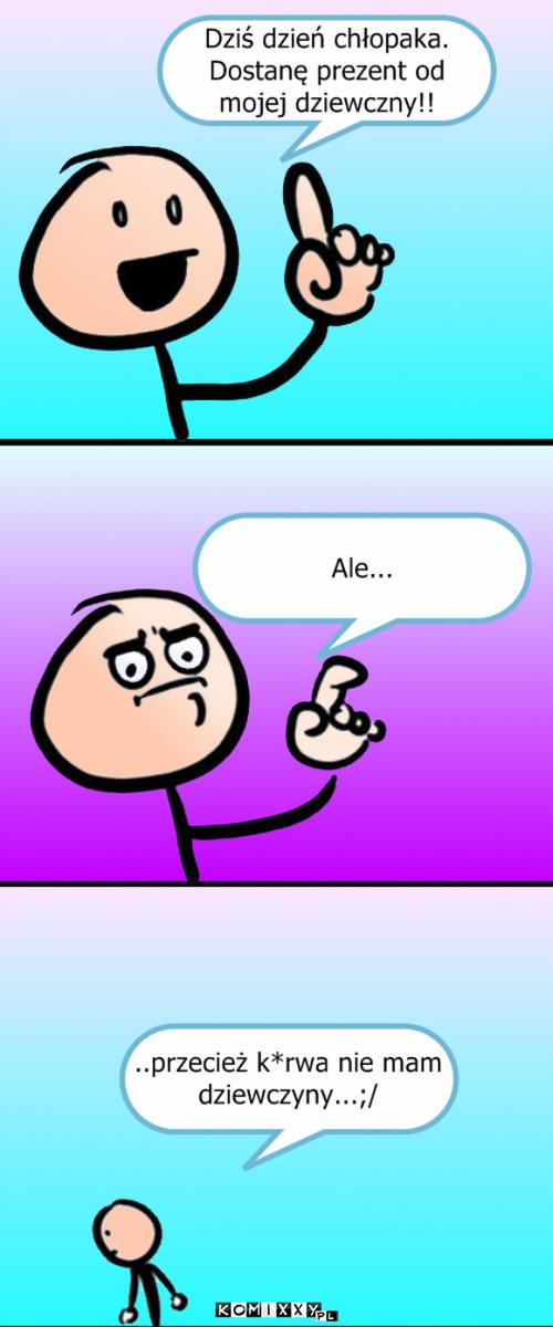 Dzień Chłopaka Komiks Internetowy