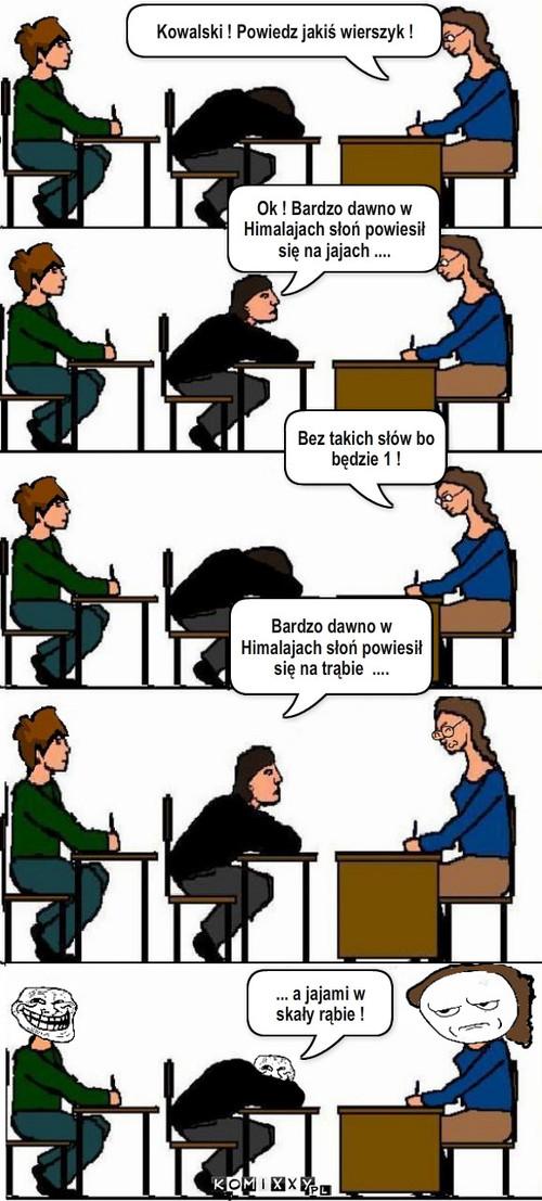 Wierszyk Komiks Internetowy