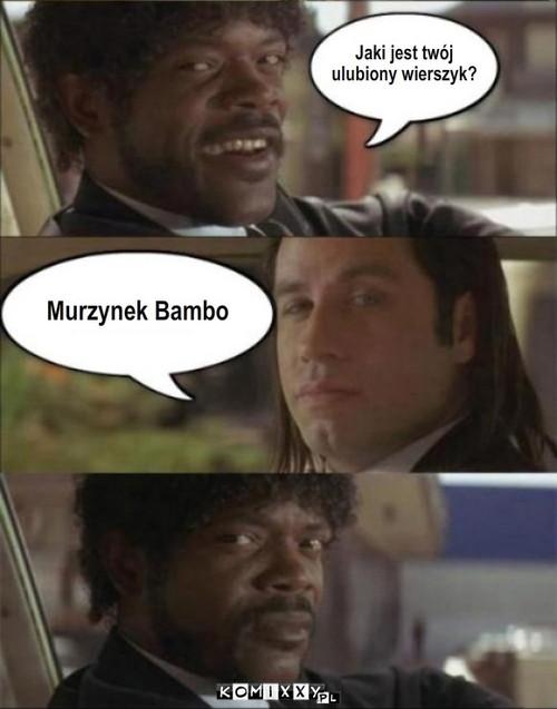 Murzynek Bambo Komixxypl