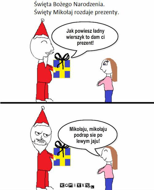 święta Bożego Narodzenia Komixxypl