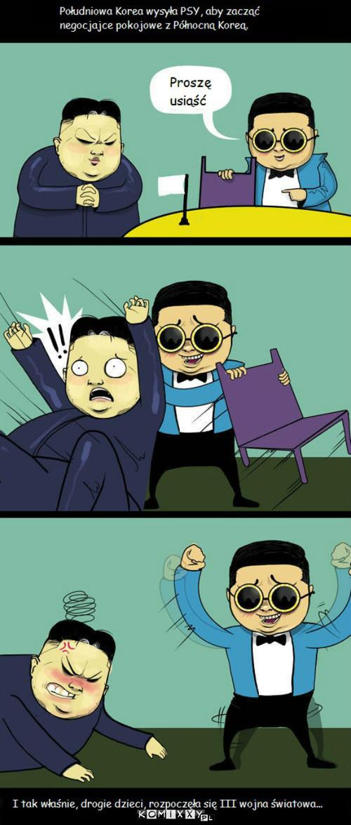 PSY vs Kim Dzong Un –