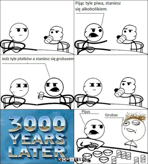 Cereal guy i beer guy –