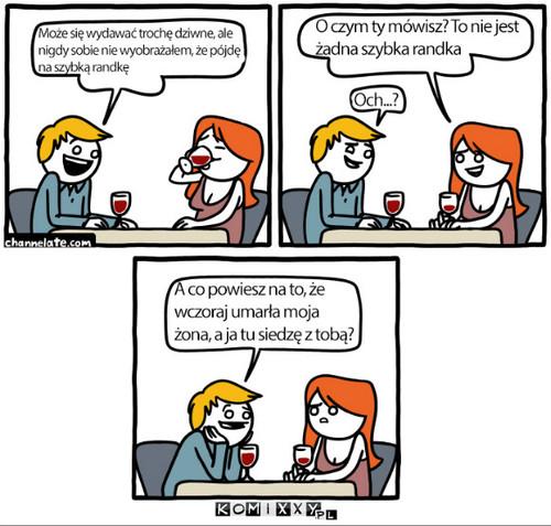 Nowy komiks z szybką randką