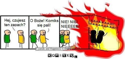 Pali się! –
