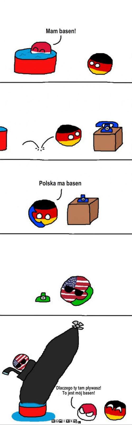 Basen Polski – Mam basen! Polska ma basen Dlaczego ty tam pływasz! To jest mój basen!