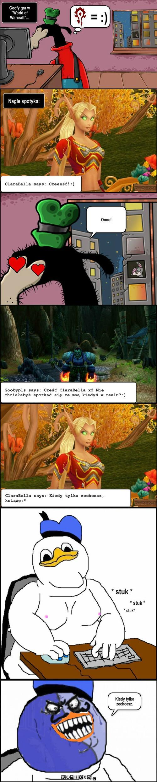 Make love, not Warcraft –