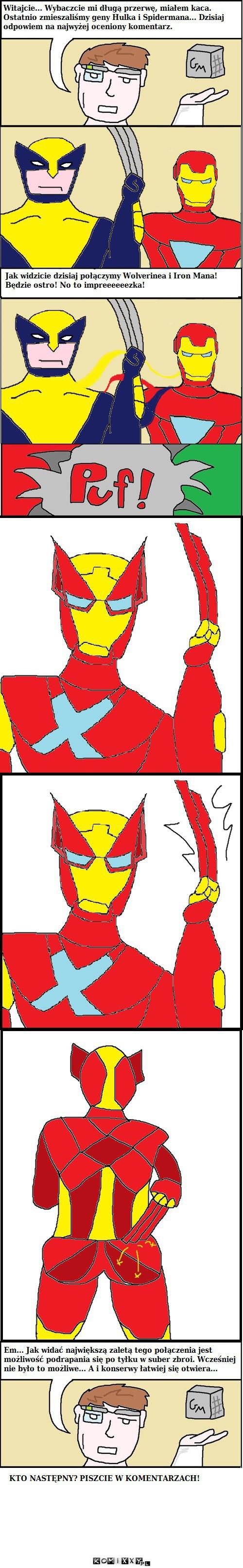 GenMix 2 - Wolverine i Iron Man –