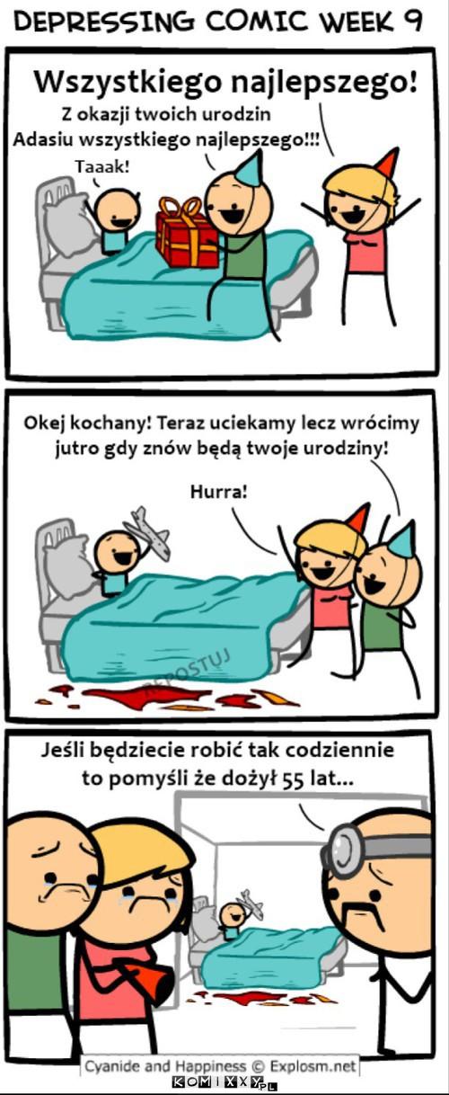 Depresyjny komiks –