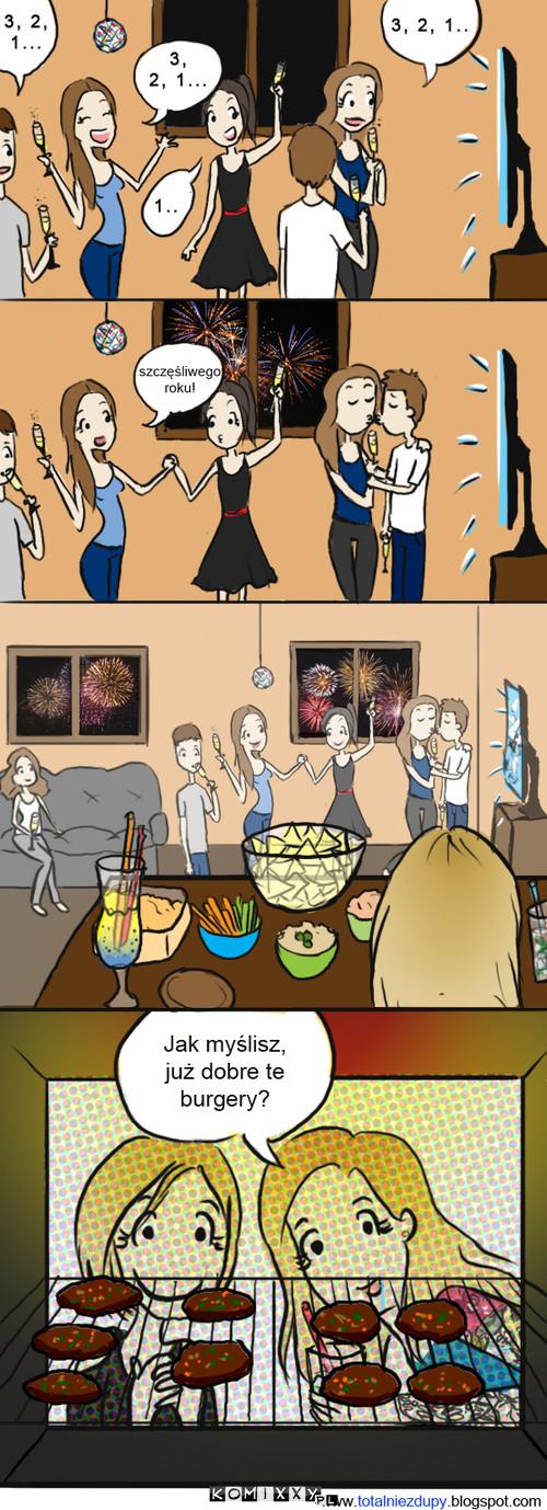 My vs. Normalni ludzie w Nowy Rok –