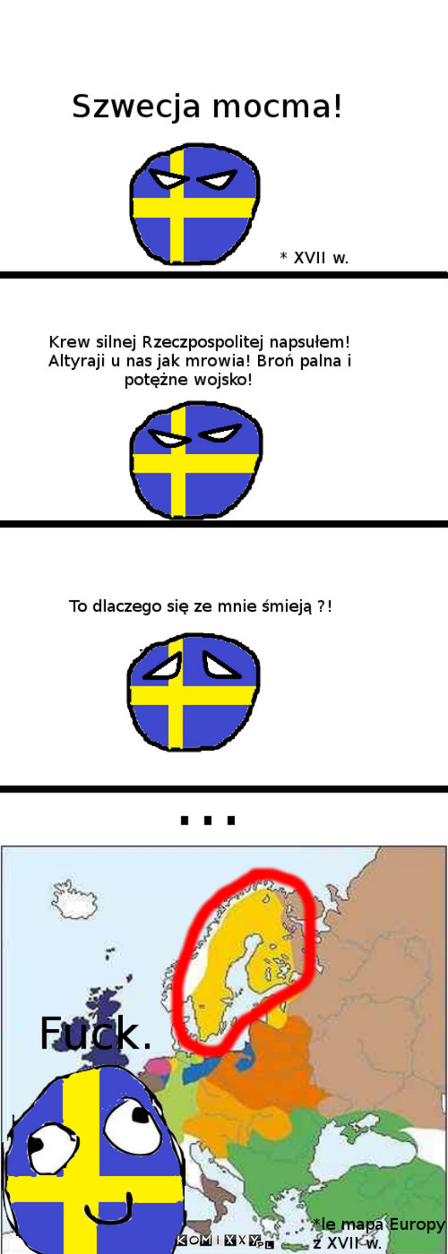Szwecja z XVII w. –