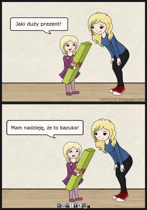 Marzenie małych dziewczynek. –