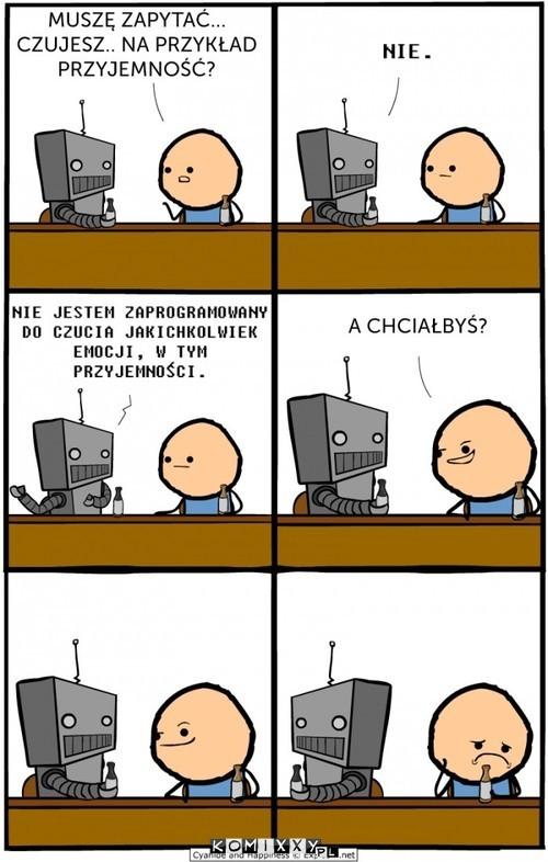 Rozmowa z robotem –