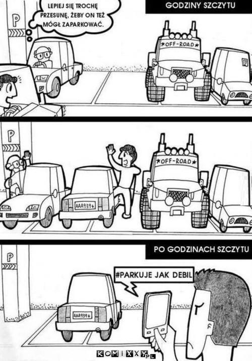 Parkowanie w godzinach szczytu –
