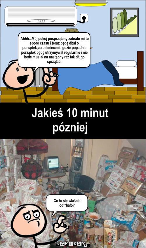 Jak to wygląda w moim pokoju –
