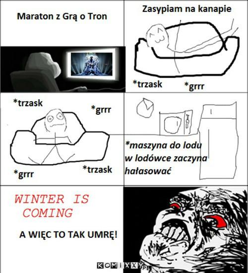 Zima nadchodzi ?