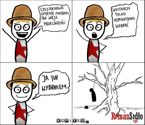 Krótki komiks o Częstochowie #1 –