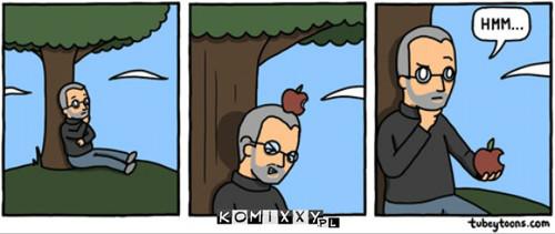 Jabłko stoi za każdym uczonym –