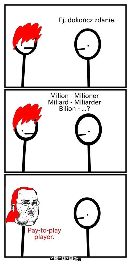 Milion, Miliard, Bilion –