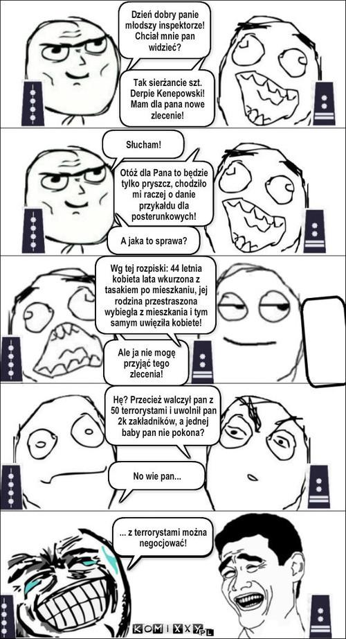 Policja... –