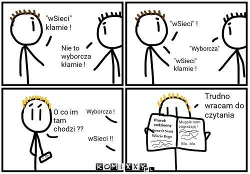 Kto kłamie ? –