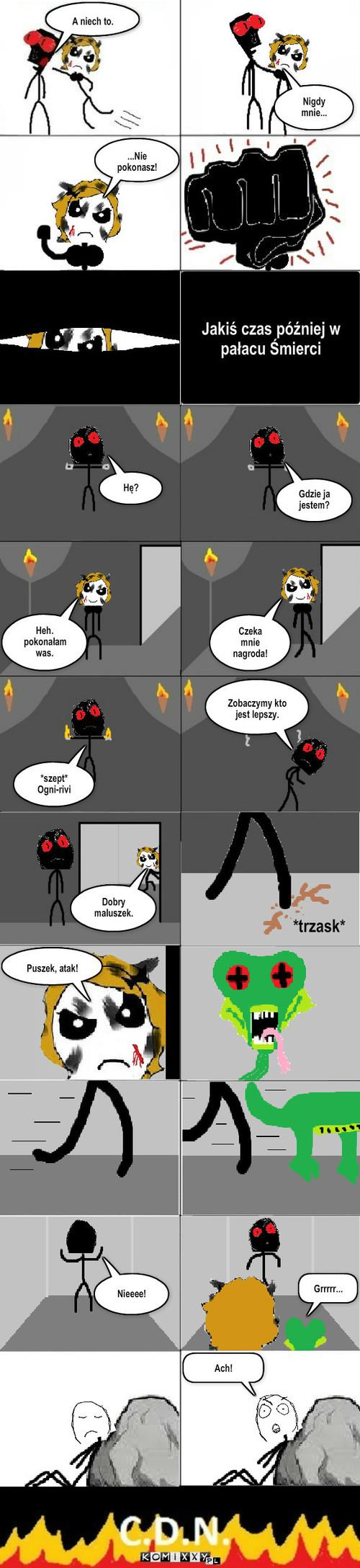 Świat Saggaru s2 #5 – Nieeee! Grrrrr... Ach!