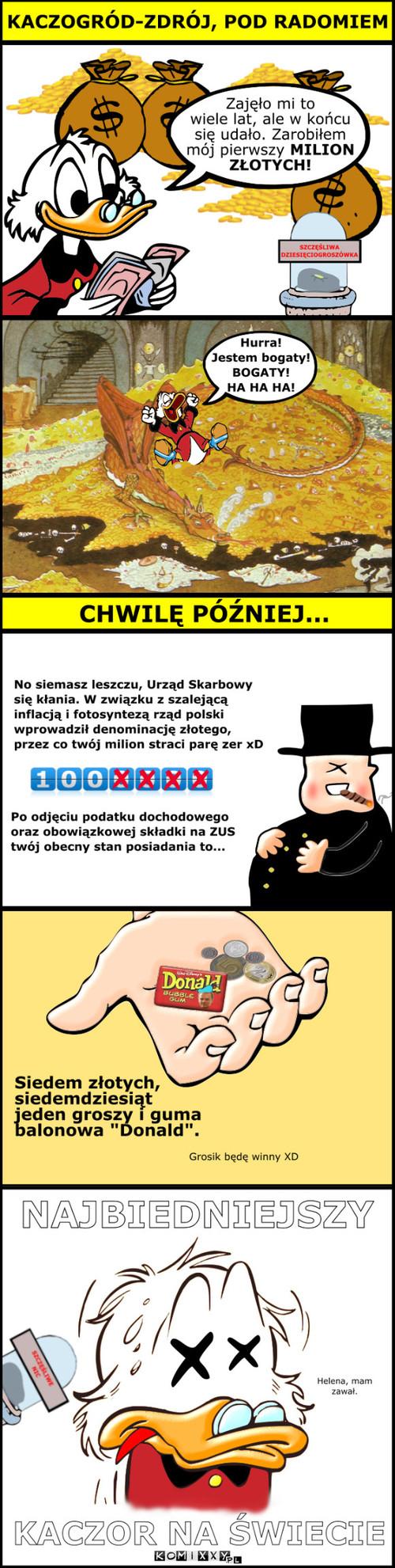 Wujek Sknerus - wersja polska –