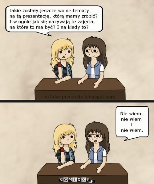Typowe studentki –