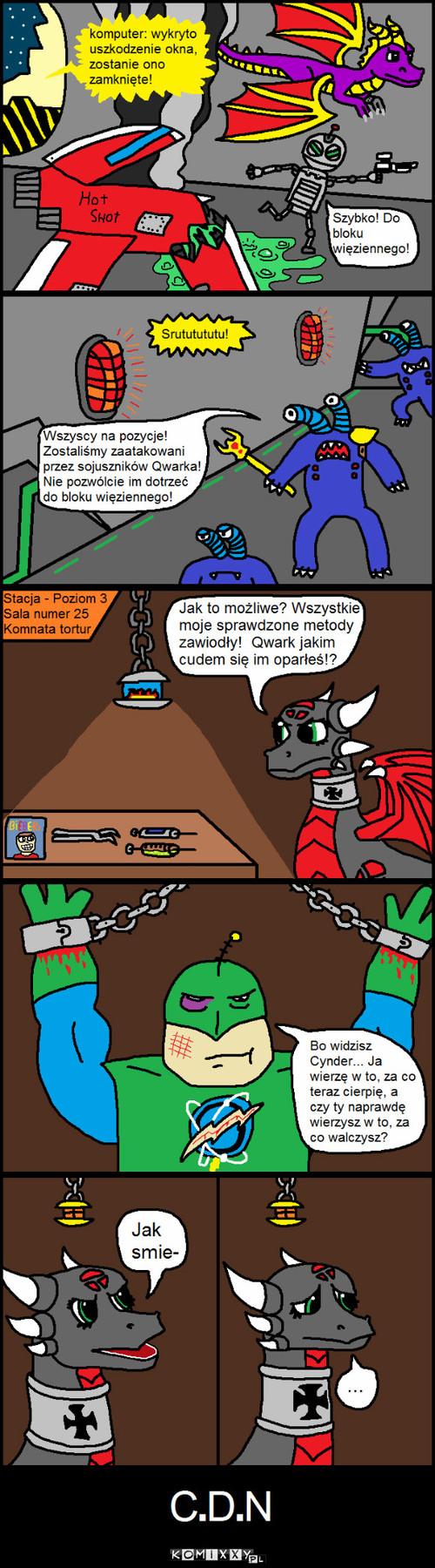 Przygody Kapitana Qwarka Odcinek #7 –
