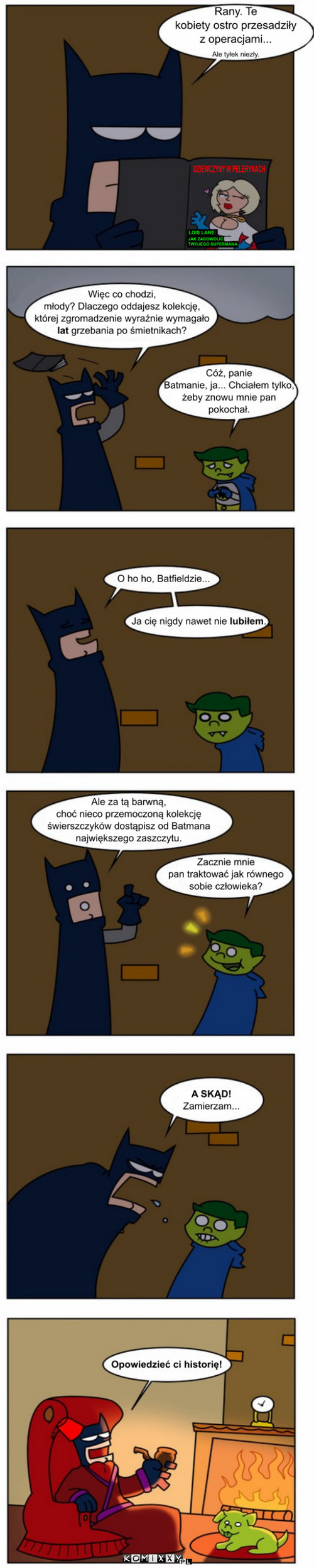 I Bat i bat tytani 17 komiks internetowy