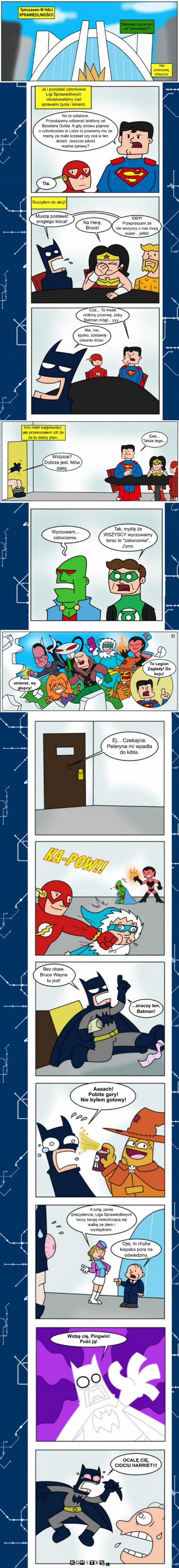 I Bat i bat tytani 18 komiks internetowy